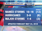 NOAA: Near to above normal storm season