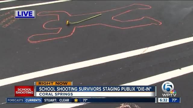 David Hogg plans -die-in- in Coral Spring Publix parking lot