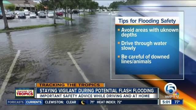 Prepare for heavy rain- flooding in South Florida this weekend