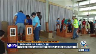 Summer in Paradise: Fairy tale playhouses