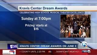 Kravis Center Dream Awards on June 3