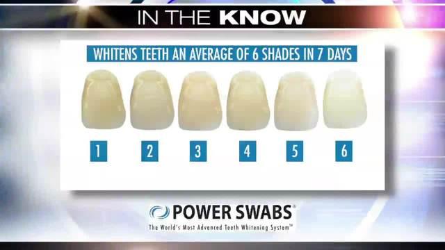 Power Swabs teeth whitening system