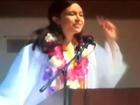 High school cuts short valedictorian's speech
