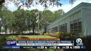 Property tax hike for Palm Beach Co. residents?