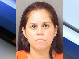 Woman accused of pointing laser at PBSO chopper