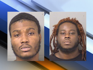 Robbery suspects stopped with child in car