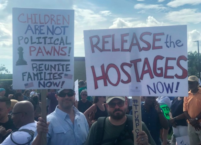March held near immigrant shelter in Homestead