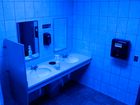 Fighting drug abuse with blue lights