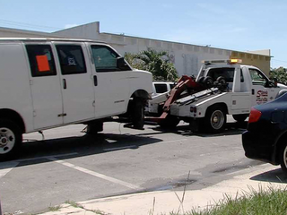 Red tag program cleans up streets of Lake Worth