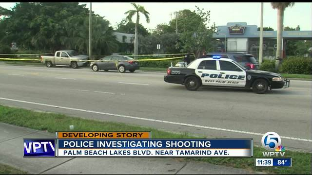 West Palm Beach driver found shot after hitting pole, later dies at ...