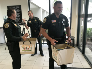 PBSO substation has library for children