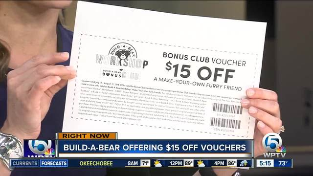 build a bear distributes 15 vouchers after too popular pay your