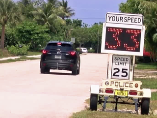 Homeowner's speeding complaints finally answered