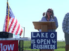 #SlowTheFlow Protect Lake O rally held Saturday