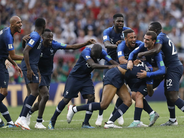 world cup final france crowned world champion after 4 2 win over