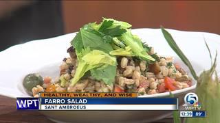 Recipe for farro salad