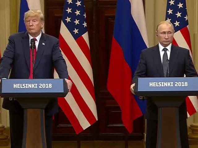 LIVE: Trump/Putin hold news conference