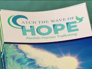 Group warns about dangers of human trafficking