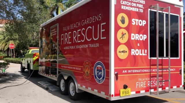 Palm Beach Gardens Fire Rescue Unveils House Fire
