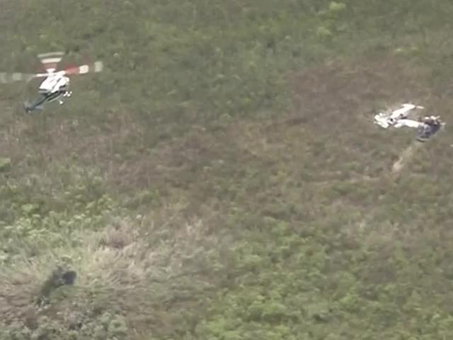 2 small planes crash in Everglades in Miami-Dade