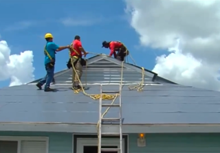 Roofing companies worry about extreme heat