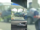VIDEO: Man hit by car at Florida gas station