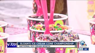 National Ice Cream Month with Sloan's Ice Cream