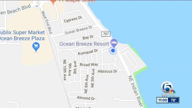 Town of Ocean Breeze Mayor- Karen Ostrand- says GPS missing majority of…