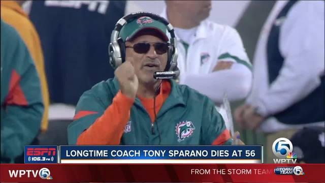 Former Miami Dolphins coach Tony Sparano dies at 56