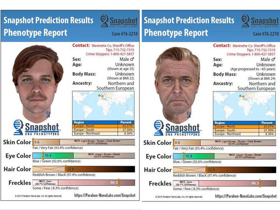 Police Enlist Dna Company To Create Images Of A Suspect In A 1976