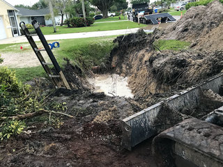 PHOTOS: Water main break in Royal Palm Beach