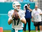 Fins' Tannehill begins latest throwing program