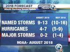 NOAA: Atlantic hurricane season below normal