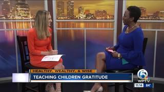 Advice on teaching your children gratitude