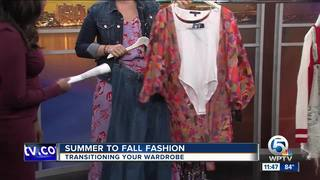 Transition your summer fashion to fall