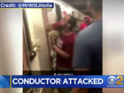 Irate riders attack Brooklyn subway conductor
