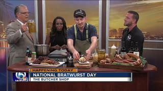 National Bratwurst Day with The Butcher Shop