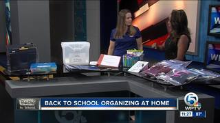Staying organized for back to school