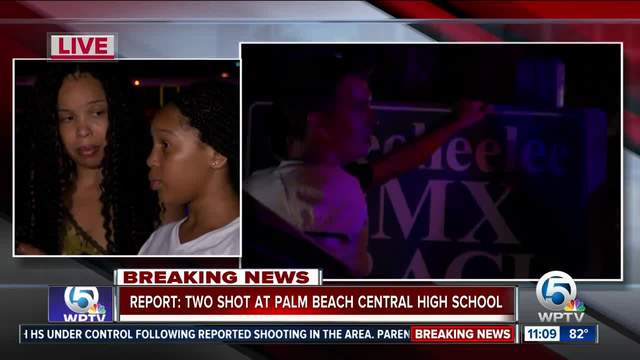 Parents- students react to Palm Beach Central High School shooting