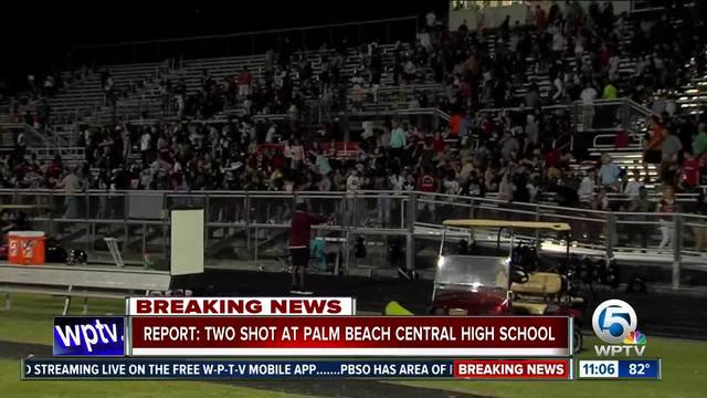 Report- Two shot at Palm Beach Central High School