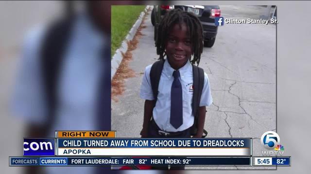 Florida boy- 6- turned away from school because of dreadlocks