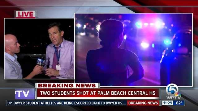 Two shot at Palm Beach Central High School
