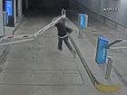VIDEO: Man smashes into parking garage gate