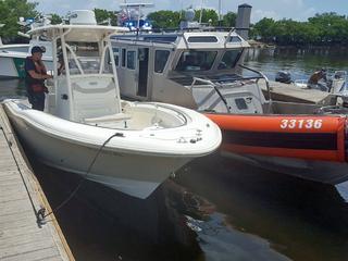Coast Guard rescues boater off Dania Beach