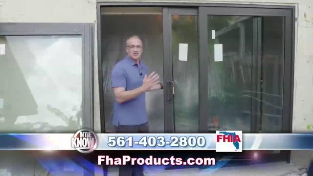 New impact sliding doors from FHIA