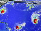 3 hurricanes, 1 system headed to the Gulf