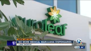 Lake Worth bans future medical pot dispensaries