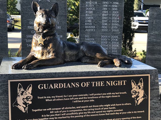 K9 memorial unveiled in Indian River County