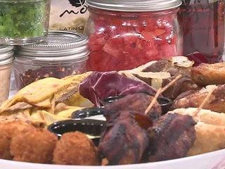 Recipe for Empanadas and Bacon-Wrapped Maduros