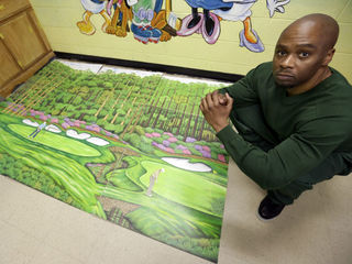Inmate-artist cleared, freed in 1991 slaying